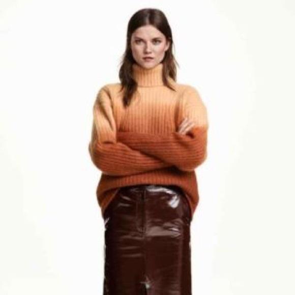 f14cabdbd72 H M Sweaters - 🍊 H M Studio Mohair Ombre Turtleneck Sweater